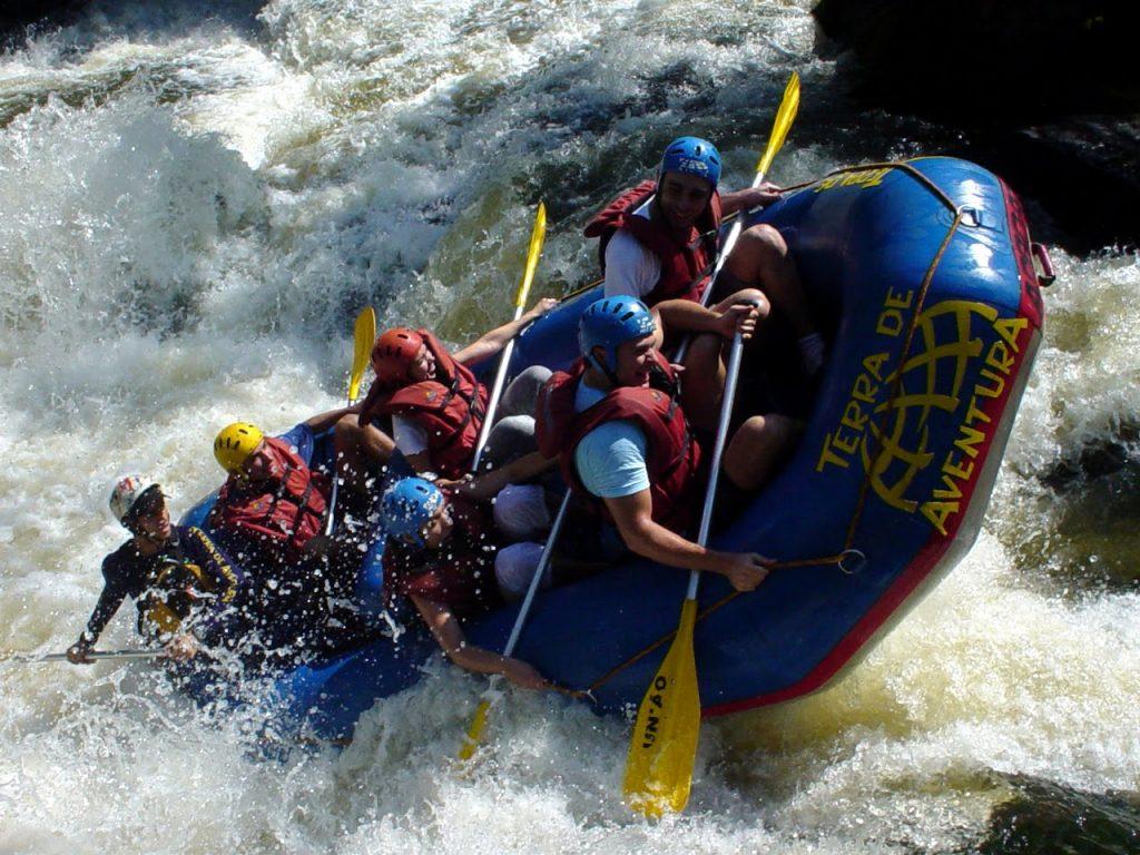 Rafting em Três Coroas