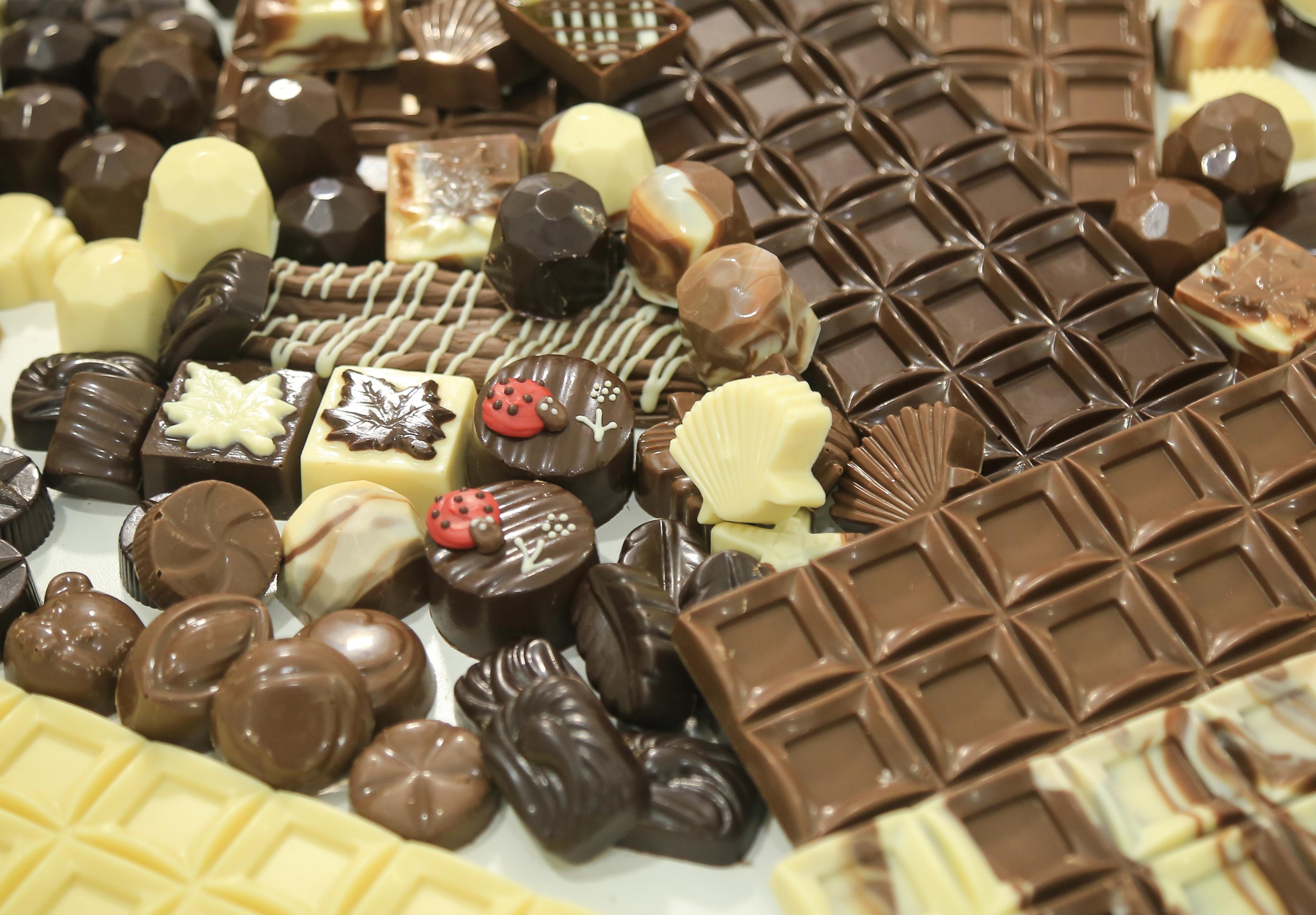 Chocolates Plátanos