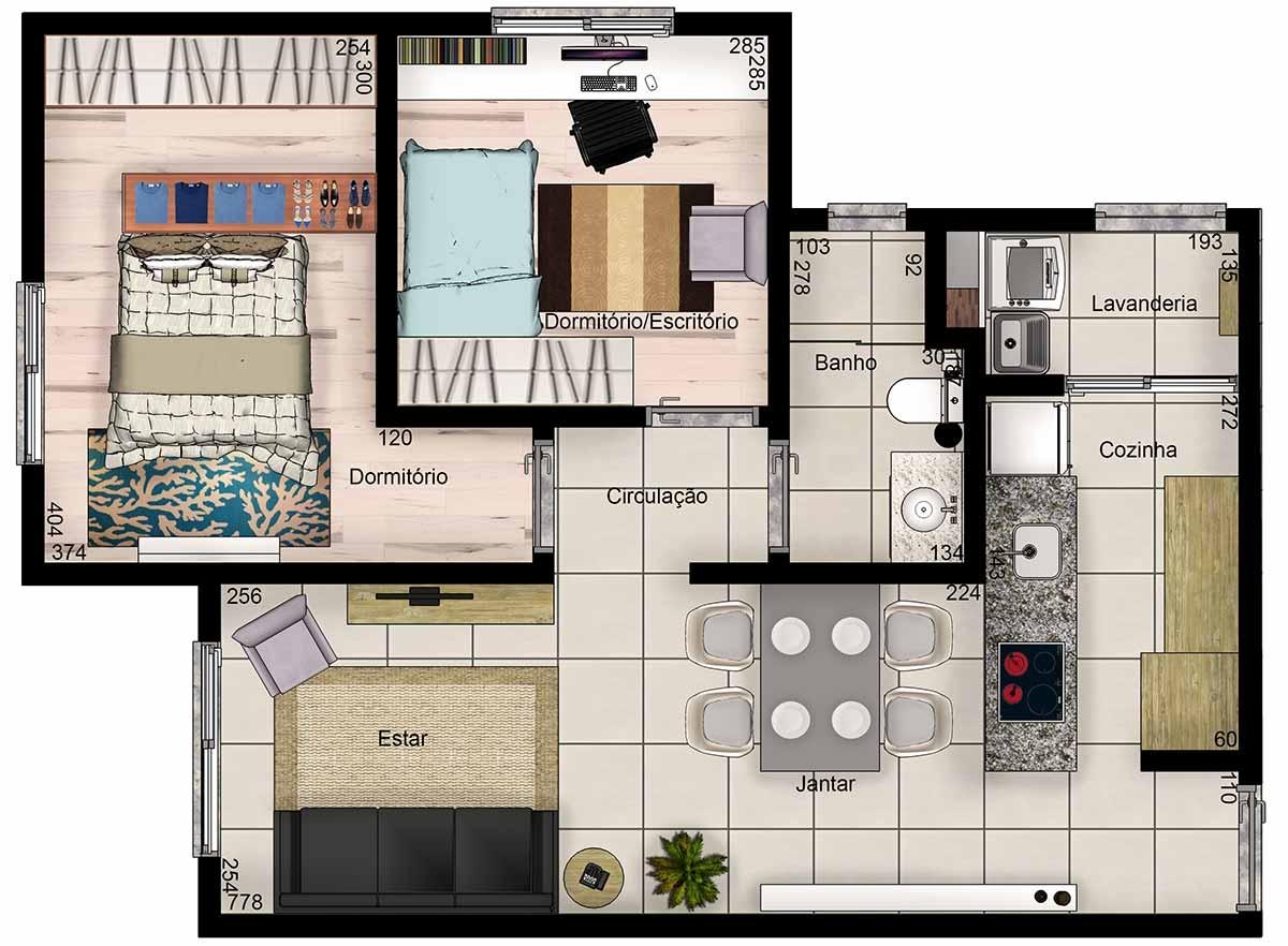 Apartamento no centro de novo hamburgo