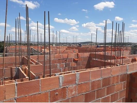 Alvenaria estrutural técnica de construção.